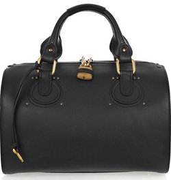 Chloe Aurore Leather Duffle Bag