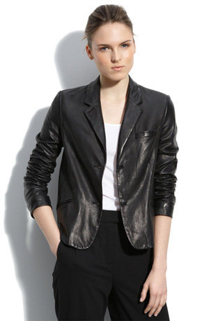 Collection Womens Leather Blazers Pictures - Reikian