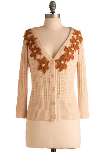 Fall Flowers Cardigan