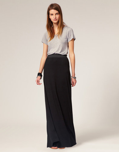 The Maxi Skirt - 7 of the Hottest High-Waisted Looks around … …