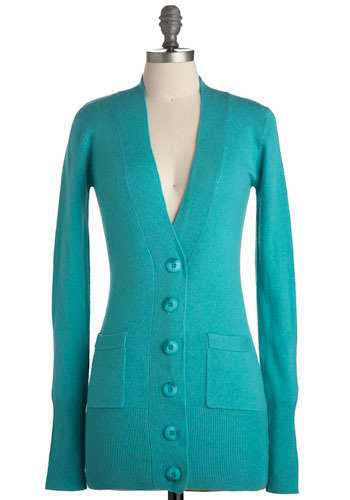 Be Teal My Heart Cardigan - 7 Ways to Wear Turquoise ... …