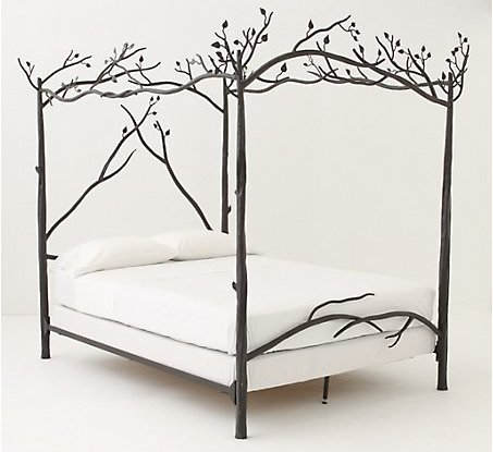 Forest canopy bed 8 beautiful beds by anthropologie Beautiful canopy beds