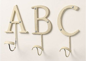 letter hooks