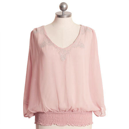 Romantic Moments Pink Top