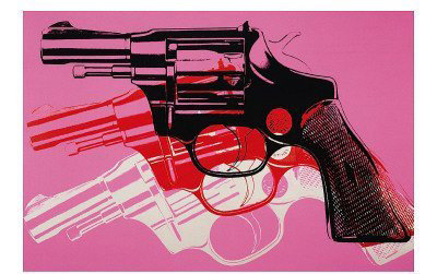 Gun Art Print Poster by Andy Warhol - 7 Arty Prints for Your Home…