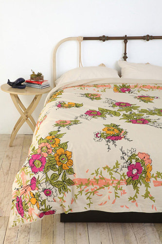 Vintage Scarf Reversible Duvet Cover 7 Beautiful Bedding