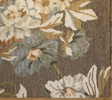 Bouquet Floral Rug 7 Best Pottery Barn Area Rugs