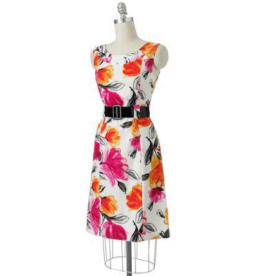 Ab Studio Floral Sheath Dress Pretty Dresses To Wear For