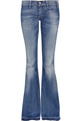 Textile Elizabeth and James Jimmy Low-Rise Flared Jeans