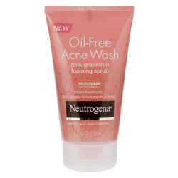Neutrogena Pink Grapefruit Face Scrub