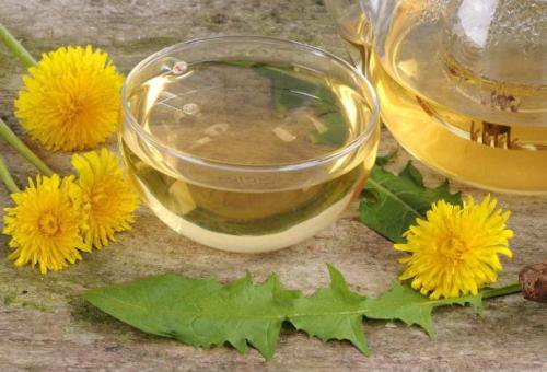 dandelion tea how to make
