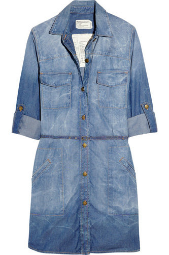 Current/Elliott the Sarah Denim Shirt Dress