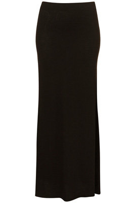 Topshop Black Basic Maxi Skirt - 7 New Season Maxi Skirts ... → 👗…