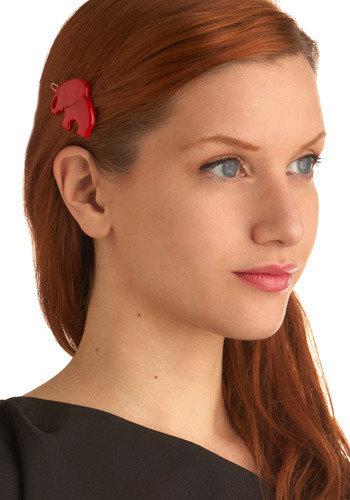 Petite Pachyderm Clip - 8 Cute Hair Accessories for Short Hair