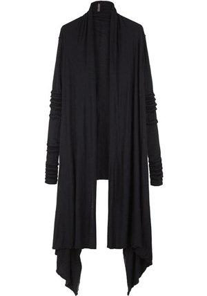 Rick Owens Lilies Draped Extra Long Cardigan - 7 Draped Cardigans…