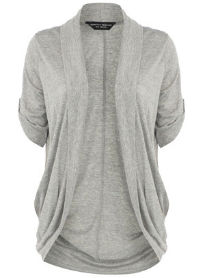 Dorothy Perkins Grey Draped Pocket Cardigan - 7 Draped Cardigans…