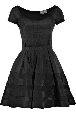 Zac Posen Full-Skirted Stretch-Silk Dress