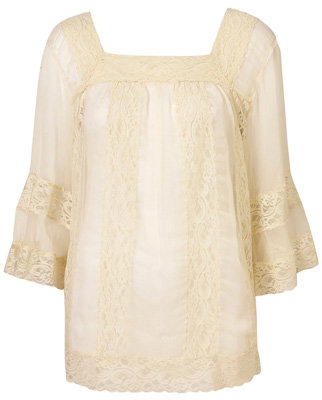 7 Lovely Lace Blouses ... →  Fashion
