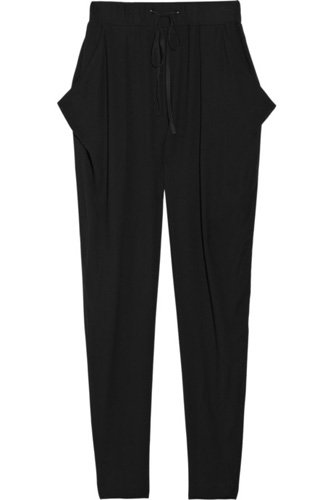 ALC Tapered Jersey Pants - 7 Stylish Slouchy Trousers ... → 👗…