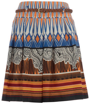 Dorothy Perkins Petite Tribal Print Skirt