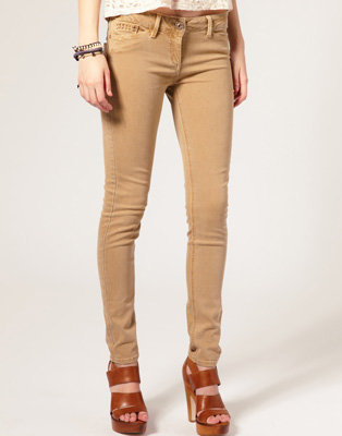 River Island Skinny Jeans - 8 Hot Colored Jeans ... → 👗…