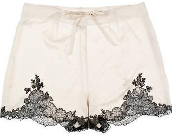 Carine Gilson Egérie Silk-satin Shorts