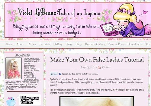 Violet LeBeaux - Tales of an Ingénue