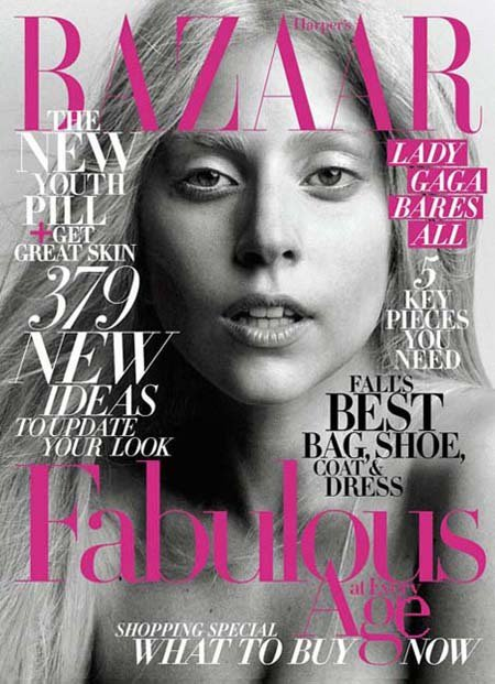 Lady Gaga for Harper's Bazaar