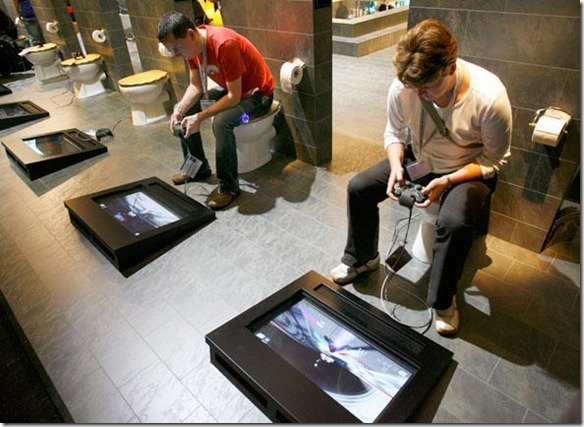 Playstation Toilet