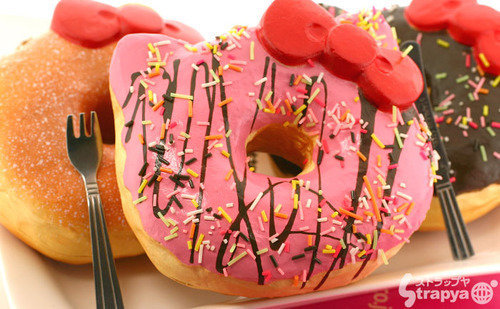 Birthday Cake Hello Kitty Donut Squishy