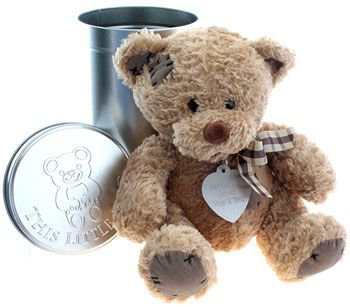 Engraved Personalised Teddy Bear