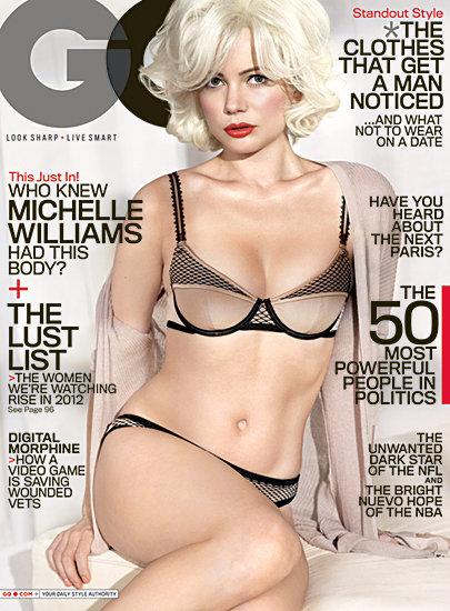 Michelle Williams Seduces as Monroe for GQ