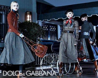 Dolce & Gabbana Fall-Winter Ad Campaign Kicks Ass! Fashion