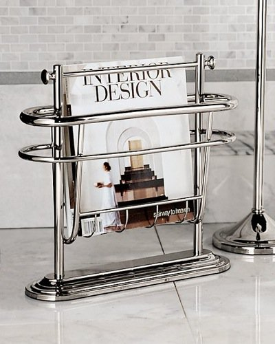 10 most stylish home decor accessories lifestyle for Trendy magazine rack