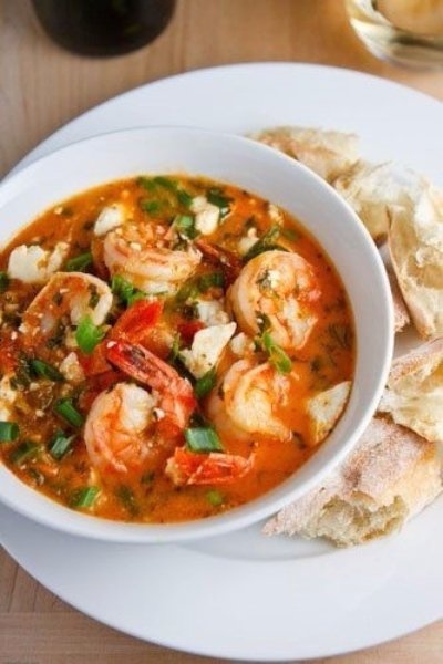 Garides Tourkolimano (Greek Shrimp) Recipe — Dishmaps