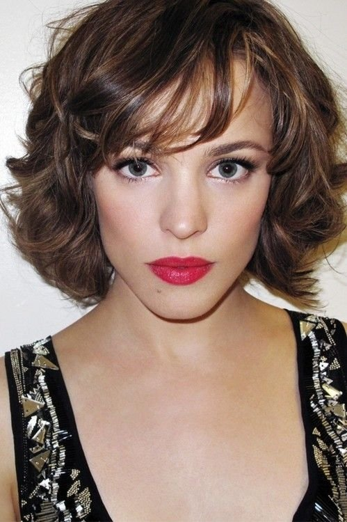 Wispy Bob With Bangs Hair Color Ideas And Styles For 2018