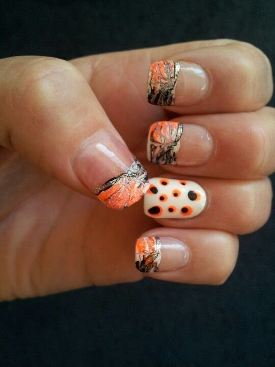 French Tip Camo Nail Design - French Tip Camo Nail Design - 62 Fabulous French Tip Designs …