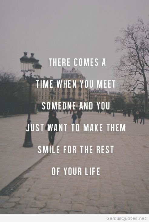 Quotes That Will Make You Smile : Make Someone Smile - 17 Best Love Quotes That Know Exactly How You?