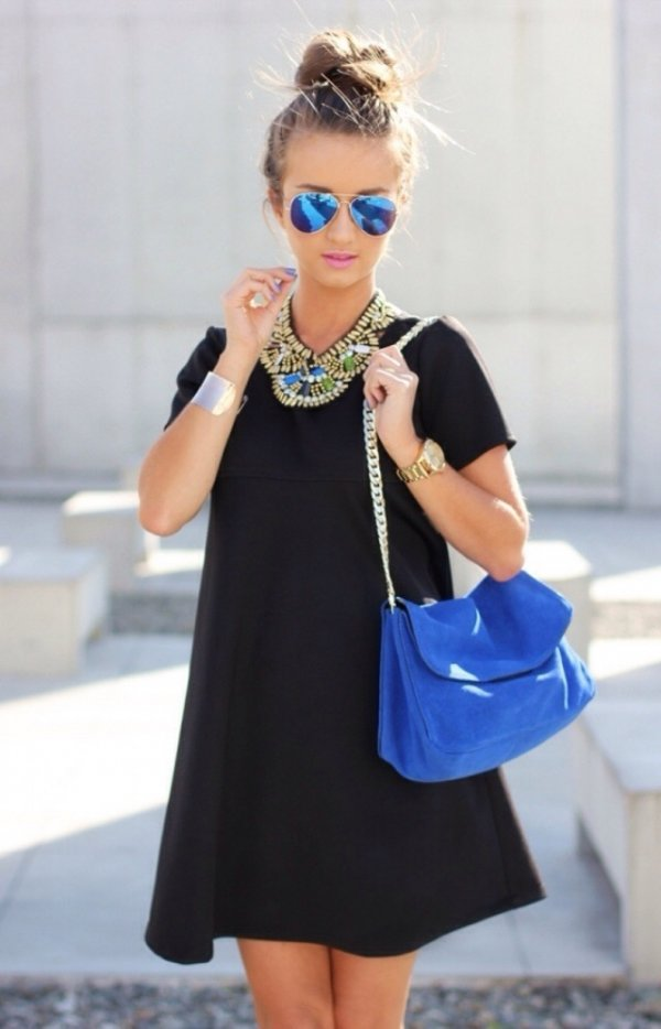 clothing,blue,dress,sleeve,outerwear,