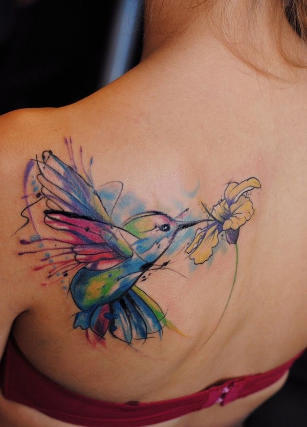 Colibr 45 Tatuajes Acuarelas Increbles Community