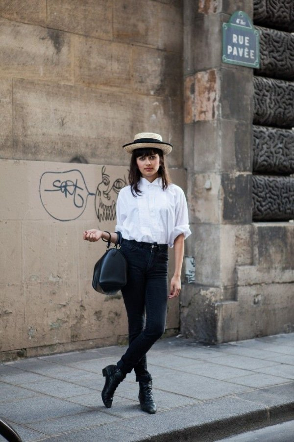 Top It Off 39 Fabulous French Street Style Looks