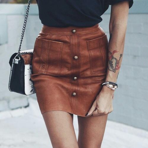 clothing, fashion, bag, leather, thigh,