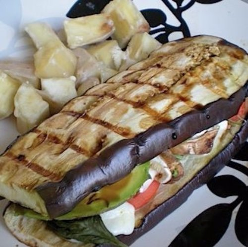Grilled Eggplant Sandwich - No Bread Sandwiches Dieters Will Love…