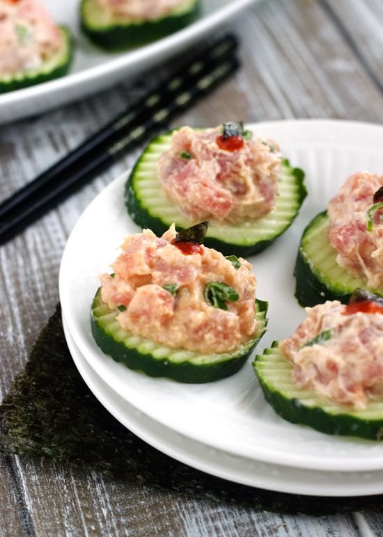 Spicy Tuna Bites