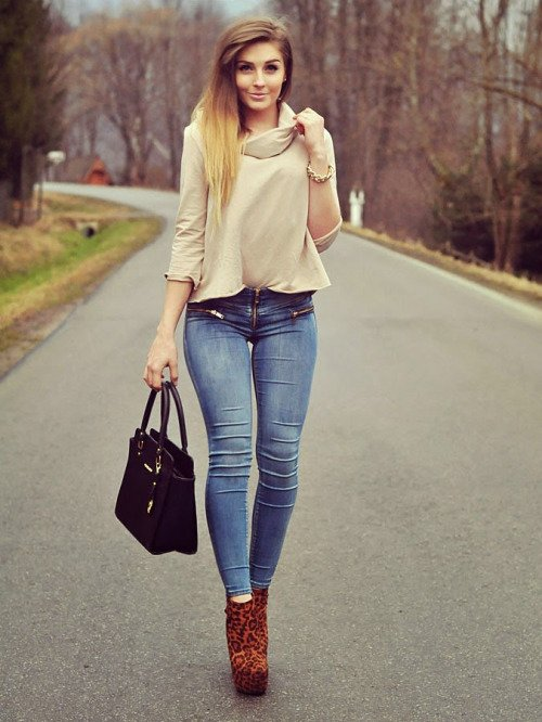 5. Too Tight Skinny Jeans - Ditch These Drab Fashion Trends in 2016…