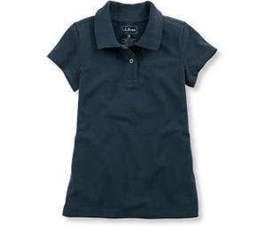 Ll bean double l polo 7 cute polo shirts for girls for Cute polo shirts for women