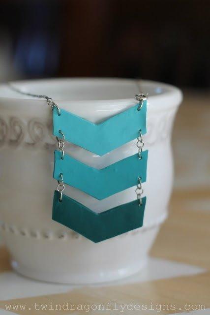 Ombré Chevron DIY Necklace