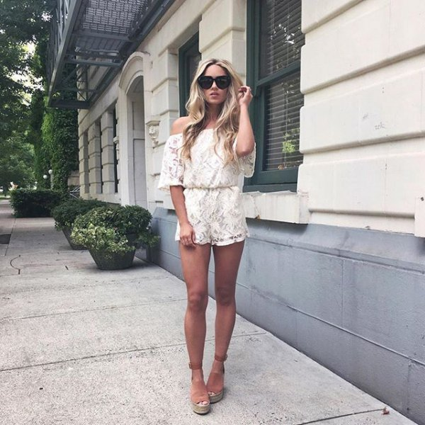 clothing, white, dress, footwear, leather,