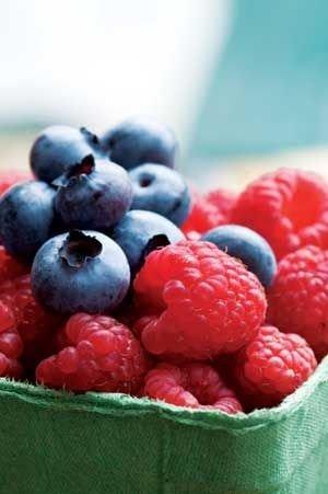 Blueberries, Blackberries, or Raspberries