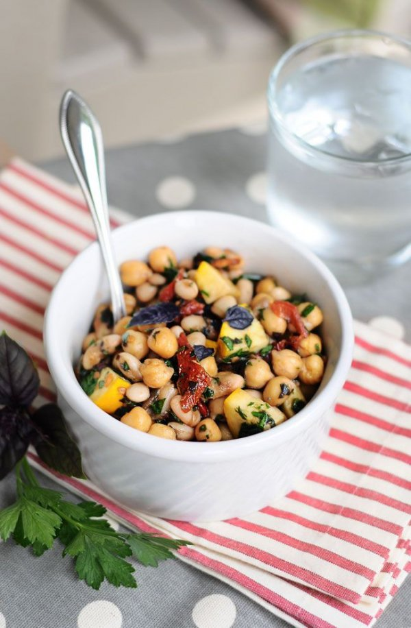 11. Super Bean Sun-dried Tomato & Basil Salad - Stay Healthy and…